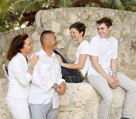 family photos cancun playa del carmen