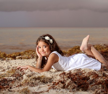 family photography cancun beach
