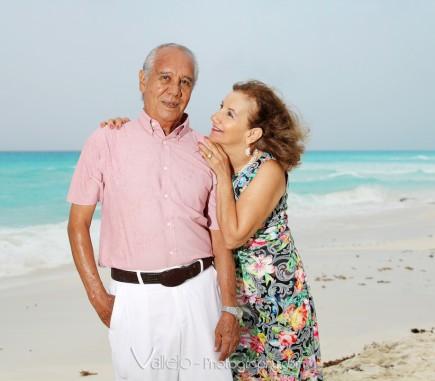 cancun family photographers beach