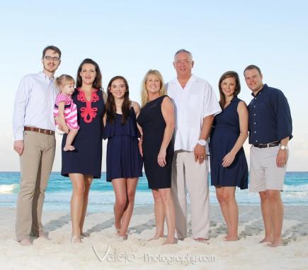 family portrait photographer cancun
