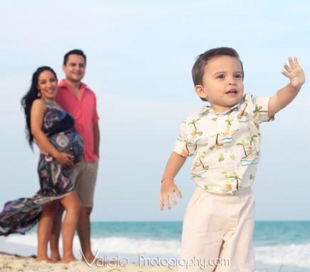 fotos familiares embarazo cancun