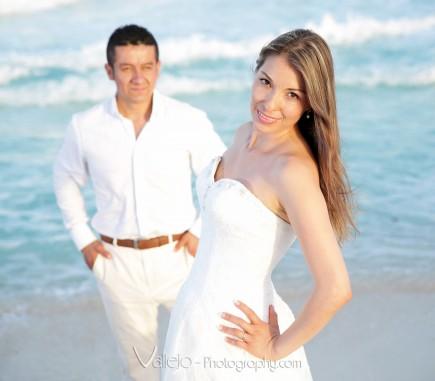 sesion fotografica romantica cancun