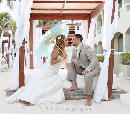 wedding photography cancun bride