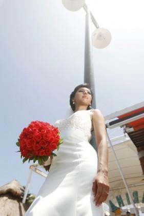 bride wedding photoshoot
