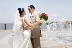 wedding trash the dress cancun