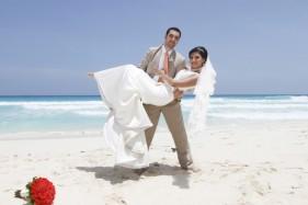 cancun trash the dress