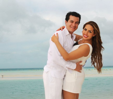Family Portraits in Cancun