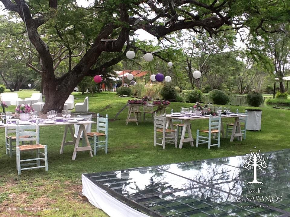 Boda - Decoracion de bodas en jardines ...