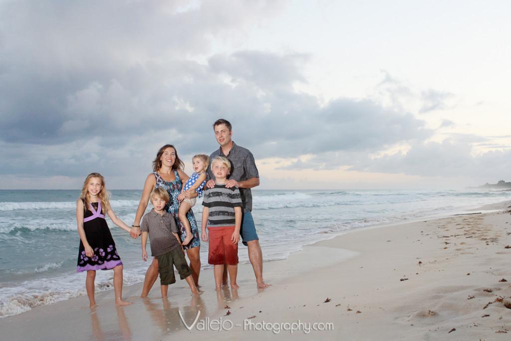 Family Portrait Cancun